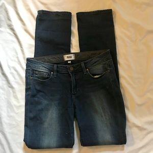 Paige Women skyline straight jeans 30/33